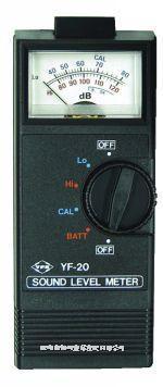 台湾宇锋YUFONG指针式噪音计声级计YF-20