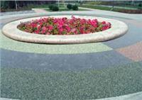 艺术透水地坪,彩色透水混凝土厂家包工包料110 RL