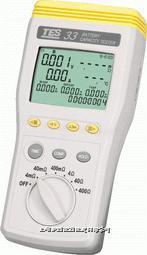 TES-33电池测试器 (RS-232) TES-33