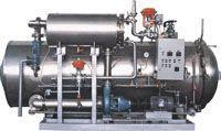 热水回转式杀菌装置
