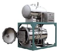 热水喷淋式电汽两用杀菌锅