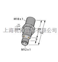 TURCK齊平傳感器,德國圖爾克電感式傳感器 BI8U-EM18WD-AP6X-H1141/3GD