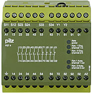 概述皮爾茲光幕,PILZ訂貨方式 PNOZ 16S 230VAC/24VDC 2S