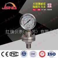 不锈钢耐震隔膜压力表--法兰式  YNTP-60B/100B/150B