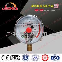 不锈钢耐震电接点压力表 YNXC-100B/150B