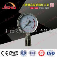 不锈钢耐温耐腐压力表 Y-60B/100B/150B