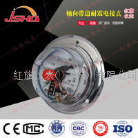 轴向耐震电接点压力表 YNXC-100ZT/YNXC-150ZT