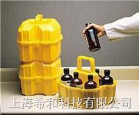 美国Nalgene6505 500ml装安全试剂瓶搬运篮,线性低密度聚乙烯 6505