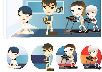 易展辦公室全民大健身