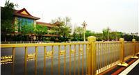 长安街不锈钢土豪金护栏生产企业