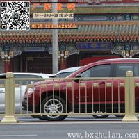 北京长安街不锈钢金色防撞护栏原产地