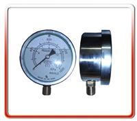 100MM径向耐震充油微压表 WYE100N-L002