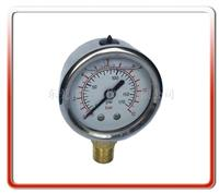 50MM轴向带支架耐震油压表 50UL-LA01