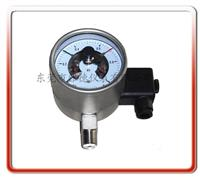 100MM径向进口款全钢电接点压力表  100DX-LA02