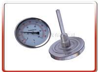 60MM轴向双金属温度计 WSS-301