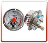 100MM轴向耐震电接点压力表 100YNX-ZT02