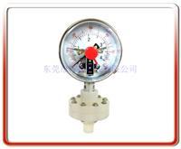 铁弗龙电接点隔膜压力表 YTP100-ML03