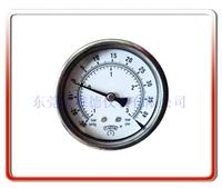 100MM轴向耐震真空负压表(阿莫尼亚表或联成计) 100UL-BZ004