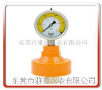 外螺纹PP隔膜式压力表 PPFC-P08