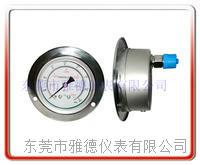 100轴向全不锈钢高压压力表 100US-BD001