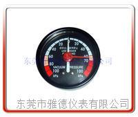 60MM轴向真空负压表 60QL-ZD002