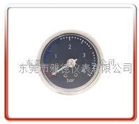 42MM带毛细管水压表(海尔款)蒸气压力表  42QZ-002
