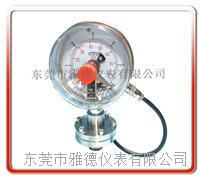 100径向不锈钢内螺纹式电接点隔膜压力表 全不锈钢隔膜压力表  YXBFX-SUS100-ATM0031