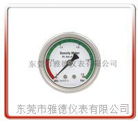 60mm SF6气体密度表  电力设备SF6压力表   中压负荷开关压力表 60SF-B22