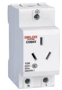 CDB6X导轨插座 CDBX