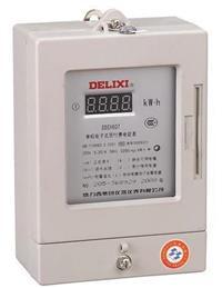 DDSY607单相电子式预付费电能表 DSSY607 3×100V 3×1.5(6)A