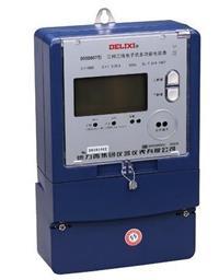 DSSD607三相三线电子式多功能电能表 DSSD607 380V 1.0级 1.5(6)A