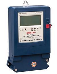 DTSF607三相电子式多费率电能表 DTSF607 3×220/380V 30(100)A
