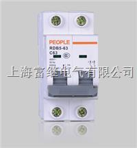 RDB5-63高分断小型断路器 RDB5-63