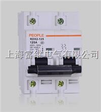 RDX2-125高分断小型断路器 RDX2-125
