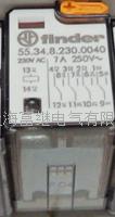 55.34.8.230.0040小型继电器 55.34.8.230.0040 / 55.34 230VAC 7A