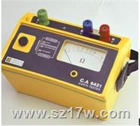 3P接地电阻测试仪CA6421 CA6421