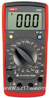 UT603电感电容表 UT603   参数   价格   说明书