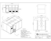 大型转角风淋室 现货供应 大型S型风淋室