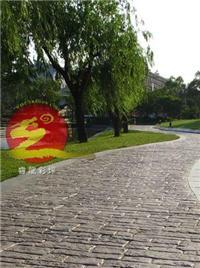 景观园艺路面 彩色地坪 艺术地坪
