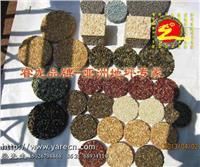 胶粘彩石的施工工序,彩石胶的用量,胶与彩色米石的配比,透水胶筑石