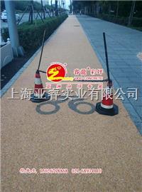 天然透水胶筑石,彩色石米胶,美国进口固化剂,上海睿龙厂家