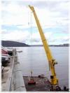 克令吊和船用液压吊图片