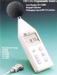 可程式噪音计TES-1352A 可程式噪音计TES-1352A