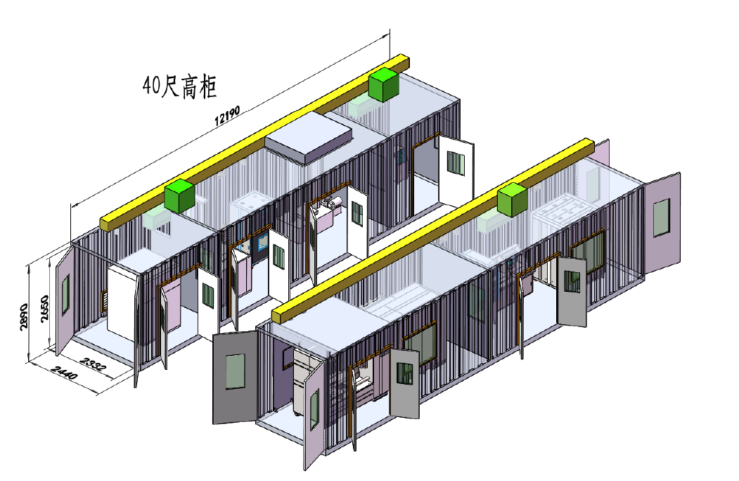 动力电池检测设备集装箱式 be