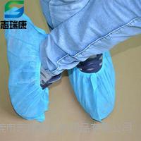 东莞一次性鞋套生产批发化工无尘车间专用无纺布鞋套