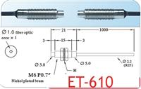 臺灣廣視GX對射型光纖線 ET-610 ET-610-I