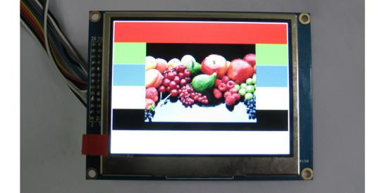 清达光电3.5寸TFT显示屏/SPI串口TFT液晶模块HGF03561