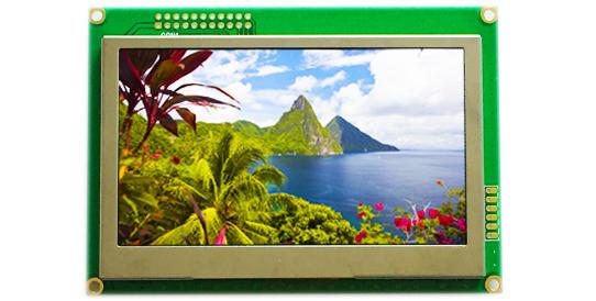 清达光电RA8871主控 4.3英寸TFT彩色液晶模块 单片机可直接驱动控制