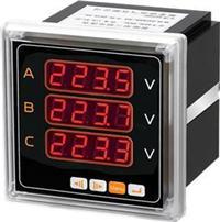 6方形智能三相电压表