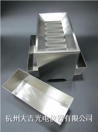 不锈钢横格式分样器